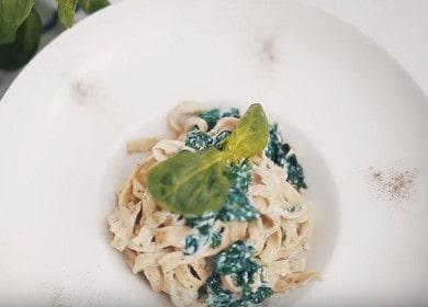 Аппетитная паста фетучини своими руками: готовим по рецепту с фото.