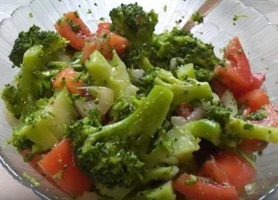 Салат из брокколи на скорую руку — никого не оставит равнодушным 🥦