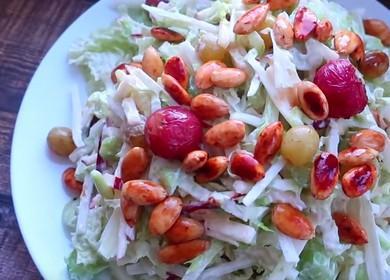 Очень вкусный рецепт салата с сельдереем стеблевым: пошаговые фото.