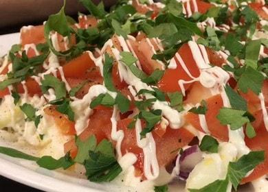 Готовим вкуснейший салат с тунцом и фасолью по пошаговому рецепту с фото.