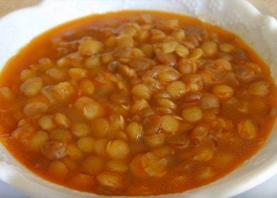 Как научиться готовить вкусный суп из зеленой чечевицы 🍲