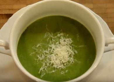 Суп-пюре из шпината, картофеля и сливок — очень вкусно и сытно 🍲