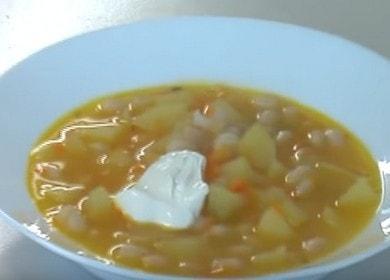 Готовим очень вкусный и питательный суп с фасолью по пошаговому рецепту с фото.