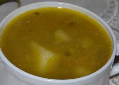 Готовим вкусный суп с чечевицей и картофелем по пошаговому рецепту с фото.