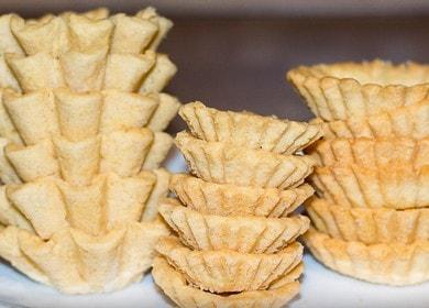 Готовим правильное тесто для тарталеток по пошаговому рецепту с фото.
