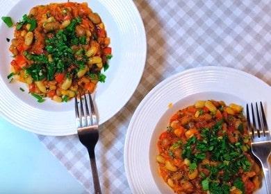 готовим вкусно фасоль с овощами: интересный пошаговый рецепт с фото.