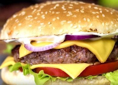 Рецепт божественного домашнего чизбургера 