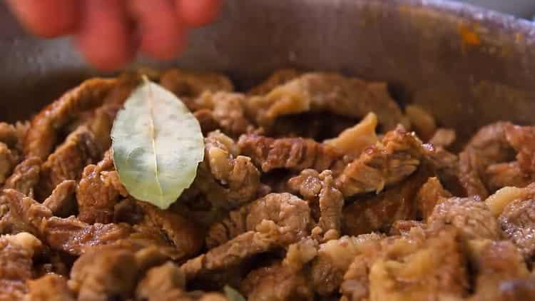 Великолепное азу по-татарски по пошаговому рецепту с фото