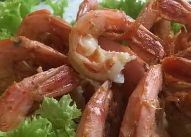 Как приготовить аргентинские креветки в чесночном соусе 🍤