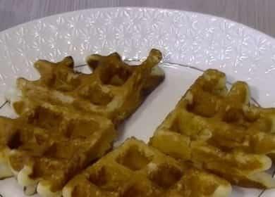 енские вафли по пошаговому рецепту с фото