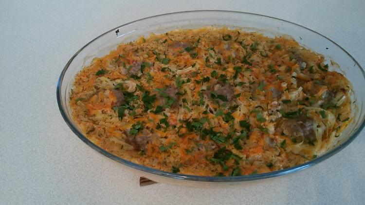 Гнезда из макарон с фаршем в духовке по пошаговому рецепту с фото