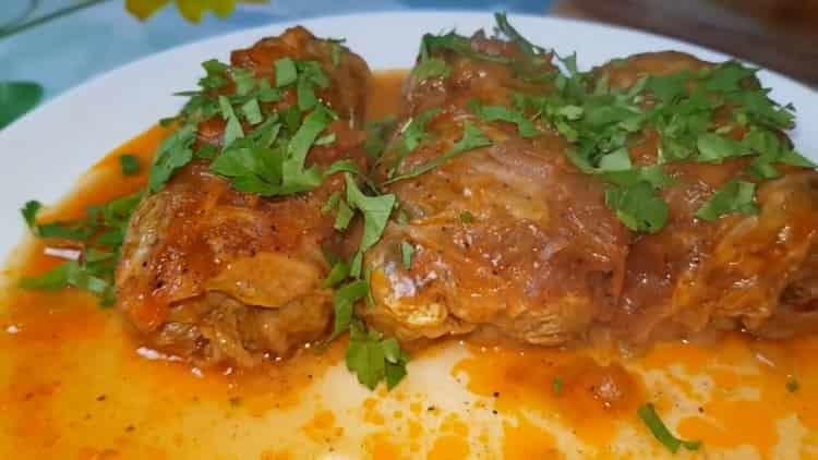 Голубцы из пекинской капусты в духовке по пошаговому рецепту с фото