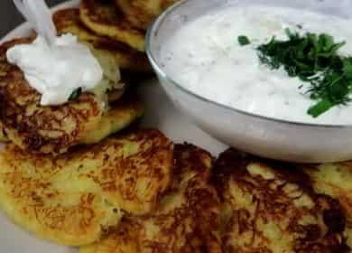 Классические драники — вкусные, нежные оладушки из картофеля 凜