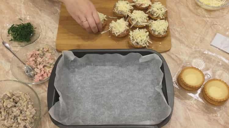 Жульен в тарталетках - супер вкусная закуска