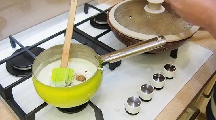 Для приготовления жульена добавьте специи