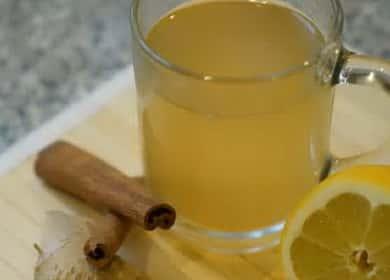 Зеленый чай с имбирем и лимоном — очень вкусно и полезно ☕