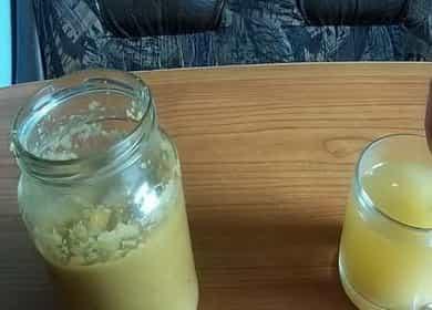 Витаминная смесь с имбирем и лимоном
