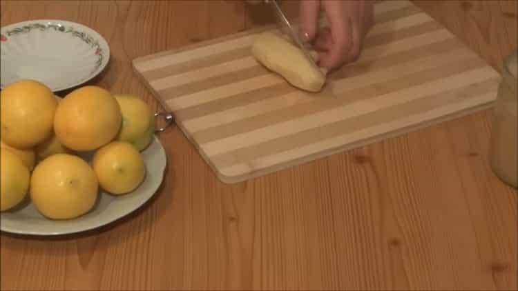 Готовим имбирь с лимоном и медом