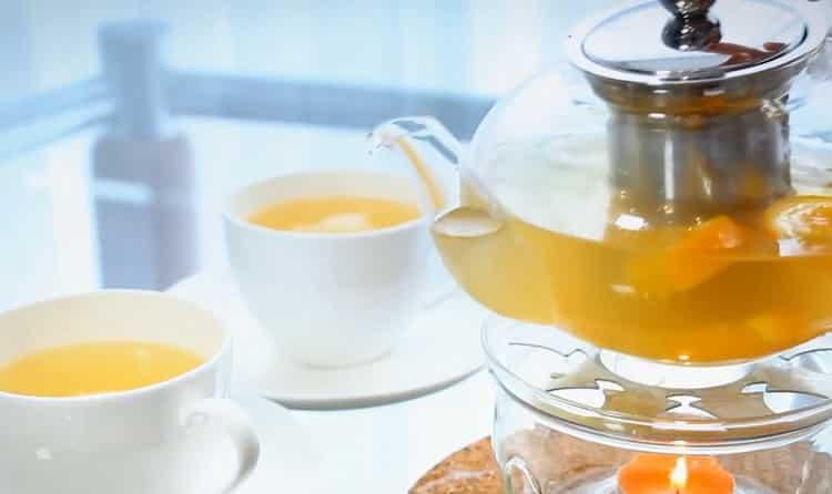 имбирь с медом готов