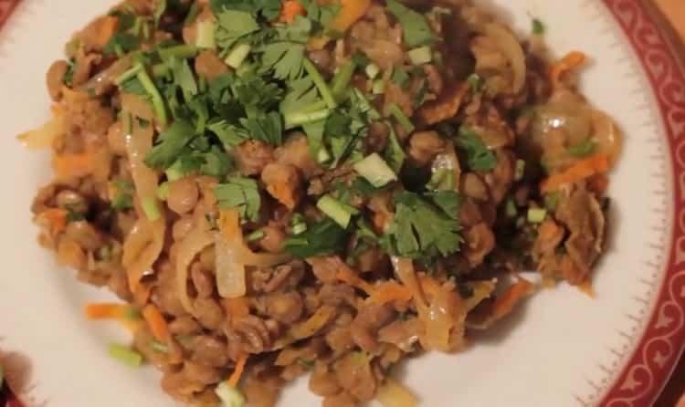 Как варить чечевицу коричневую: пошаговый рецепт с фото