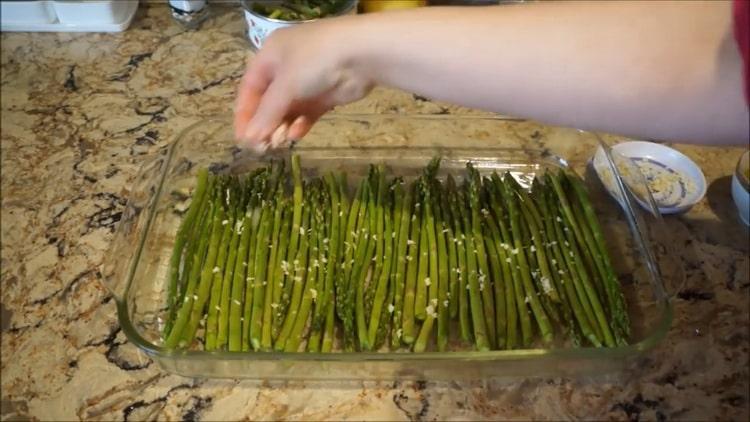 Как приготовить зеленую спаржу по пошаговому рецепту с фото
