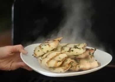 Кальмар на гриле по пошаговому рецепту с фото