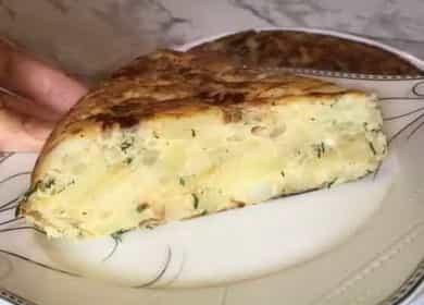 Картофельная тортилья по пошаговому рецепту с фото 