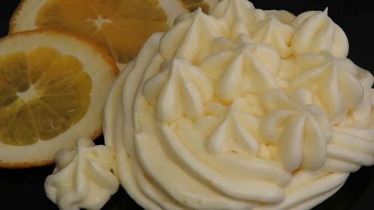 Нежный крем для торта из сыра Маскарпоне и апельсинового курда