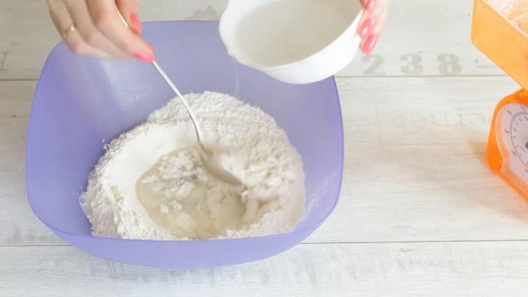 Для приготовления лапши удон, подготовьте ингредиенты