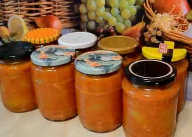 Лечо по-домашнему на зиму — сладкий перец в томатном соусе 🌶