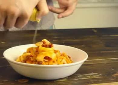 Острая паста с кальмарами разнообразит ваш повседневній ужин 