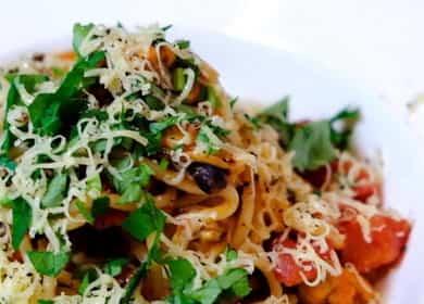 Паста с мидиями в томатном соусе - рецепт на все случаи жизни