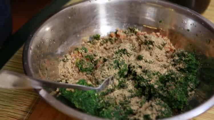 Пхали из шпината по пошаговому рецепту с фото