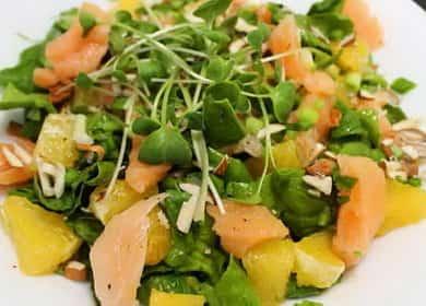 Салат со шпинатом и семгой — вкусный, сочный и полезный 綾
