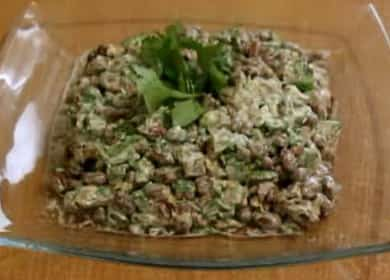 Как научиться готовить вкусный салат с говядиной и фасолью 🍲