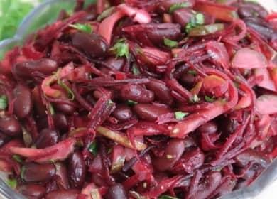 Как научиться готовить вкусный салат с красной фасолью консервированной