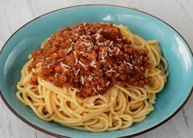 Спагетти Болоньезе по пошаговому рецепту с фото