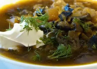 Суп из сушеных грибов с перловкой: пошаговый рецепт с фото