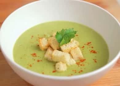 Суп-пюре из брокколи со сливками — нежный муcс с тонким сливочным ароматом 🍵
