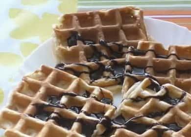 Творожные вафли в мультипекаре: пошаговый рецепт с фото