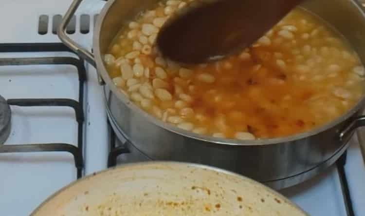 Для приготовления блюда, проварите ингредиенты