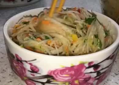 Салат Фунчоза по-корейски — эта закуска великолепно подходит для праздничного стола 