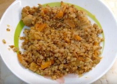 Очень вкусная гречка в духовке с мясом: готовим по пошаговому рецепту с фото.