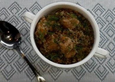 Сытная и вкусная гречка со свининой: готовим с пошаговыми фото.