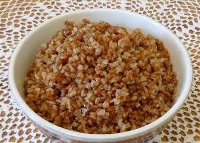 Все о том, как варить вкусную рассыпчатую гречку на воде: рецепт с фото.