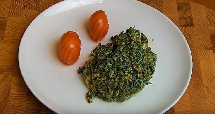 такой рецепт поможет действительно вкусно приготовить замороженный шпинат.