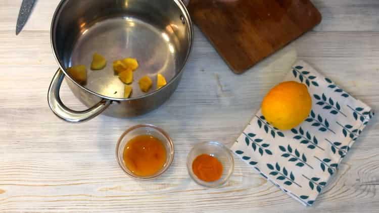 Как готовится вода с лимоном и имбирем