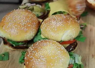 Классический гамбургер - вкуснее чем в макдональдсе
