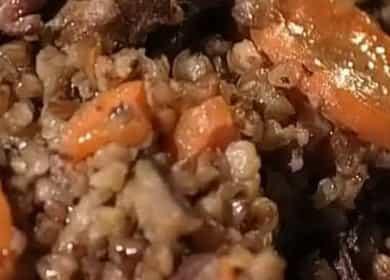 Гречка по-купечески со свининой по пошаговому рецепту с фото