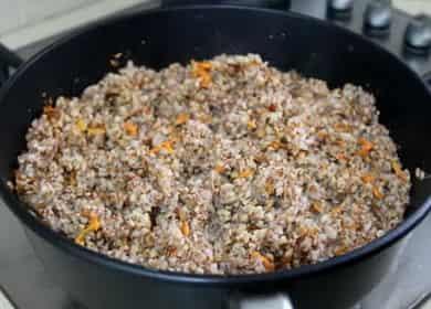 Гречка с луком и морковью по пошаговому рецепту с фото